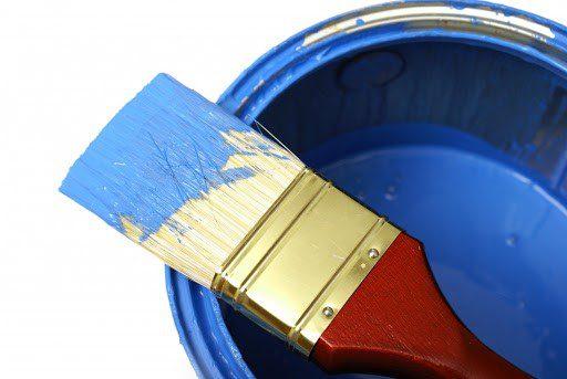 ابزار برای رنگ نمودن استخر