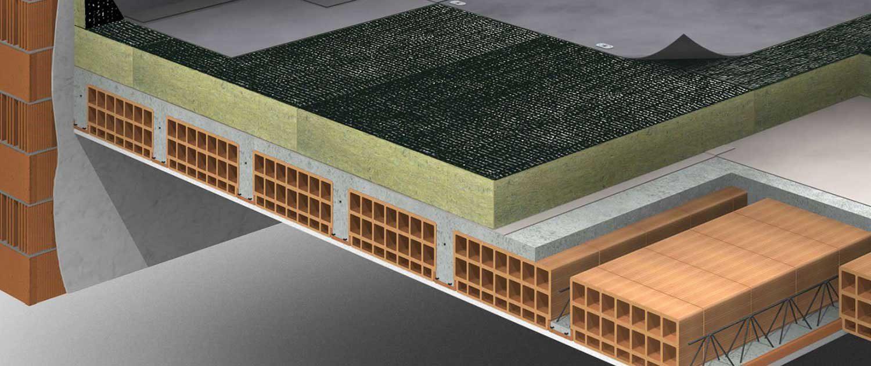صداهای کوبشی و قیمت عایق صوتی روکار سقف